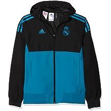 adidas Eu Pre Jky Chaqueta-Línea Real Madrid FC Temporada 2017 2018 5f070be684891