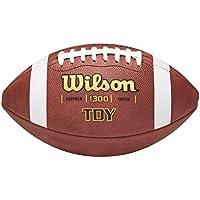 Wilson TDY - Balón de fútbol americano, color marrón