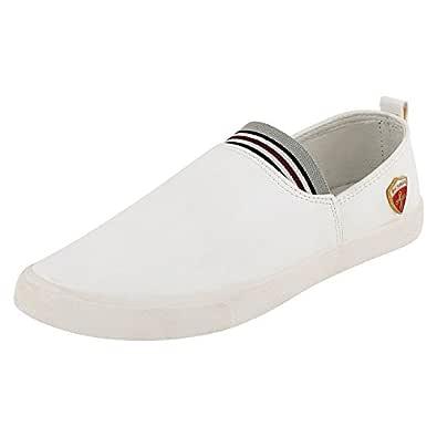 Jabra Men'S Neo White Casual Shoes