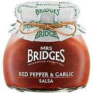 Pack of 6 Mrs Bridges Red Pepper & Garlic Salsa 200g