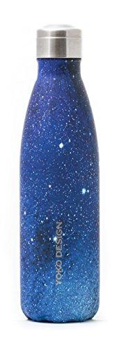 Yoko Design 1487Thermos 500ml, Acciaio inossidabile, Galaxy, 26x 7x 7cm
