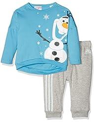 adidas To Dyq Olaf Js Disney - Camiseta de manga corta para niño, multicolor, talla 98
