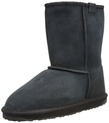 Emu Women's Stinger Lo Snow Boots, Black, 3 UK
