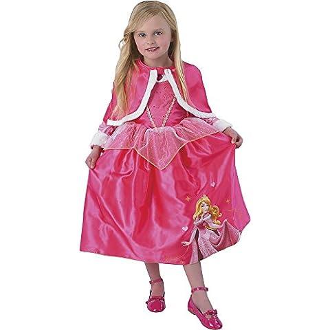 Princesas Disney - Disfraz de Bella Durmiente Winter, para niñas, talla M (Rubie's 881854-M)
