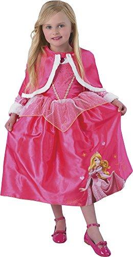 (Disney Prinzessinnen Kostüm Dornröschen Winter, für Mädchen, Größe M (Rubie 's 881854-m))