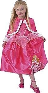Princesas Disney - Disfraz de Bella Durmiente de Invierno para niñas, infantil 5-6 años (Rubie