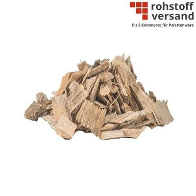 Mulch Holzhackschnitzel G30 Grob 0-60mm 70L x 18 (1.260L / halbe Palette) inkl. Versand von Rohstoffversand_de bei Du und dein Garten