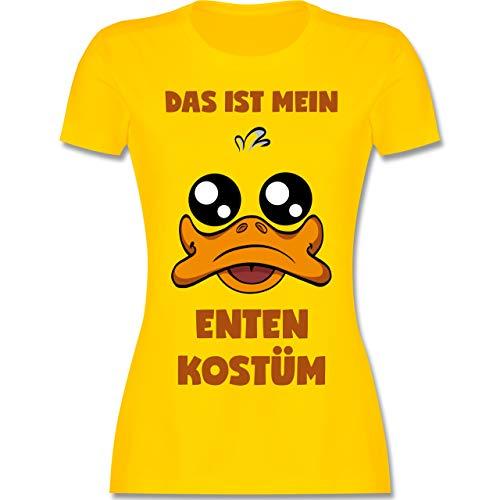 Kostüm Duck Frauen - Karneval & Fasching - Das ist Mein Enten Kostüm - L - Gelb - L191 - Damen Tshirt und Frauen T-Shirt