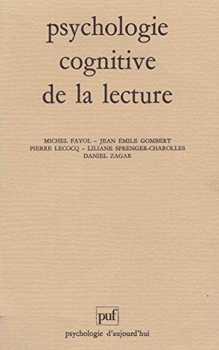 Psychologie cognitive de la lecture par Michel Fayol