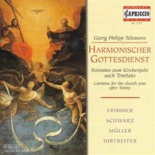Harmonischer Gottesdienst (Kantaten zum Kirchenjahr nach Trinitatis)