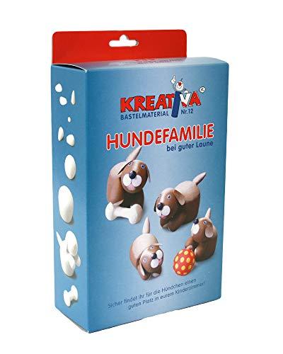 KREATIVA 1008550027 - Bastelmaterial, Familia de los Perros en el Buen Humor