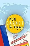 Mon Carnet De Voyage: Journal De Voyage RUSSIE Avec Planner et Check-List ,Pour Vous Accompagner Durant Votre Voyage ,125 pages, grille de lignes|format 6x9 DIN A5, couverture souple matte
