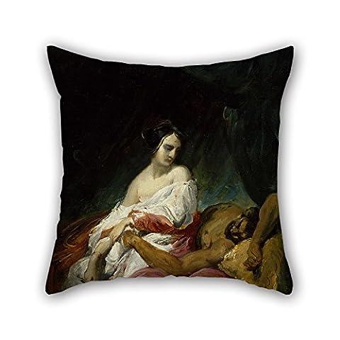 50,8x 50,8cm/5050cm de peinture à l'huile Horace Vernet (– Judith et Holopherne Taie d'oreiller, chaque côté et Ornement Cadeau au BF, enfants filles, chaise longue, bureau, GF, une salle de danse