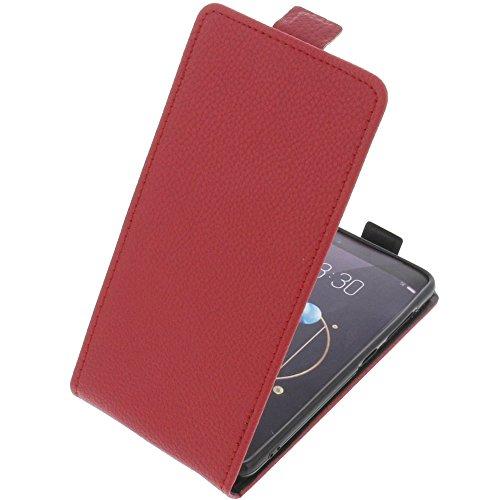 foto-kontor Tasche für Archos Diamond Alpha Smartphone Flipstyle Schutz Hülle rot