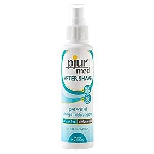 Pjur med Aftershave Spray – Schützt vor Entzündungen und Rasurbrand, 1er Pack (1 x 100 ml)