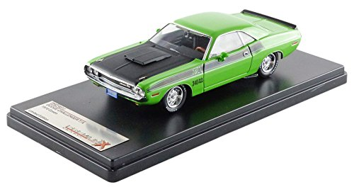 ixo-premium-x-prd407j-dodge-challenger-t-a-1970-echelle-1-43-vert-noir