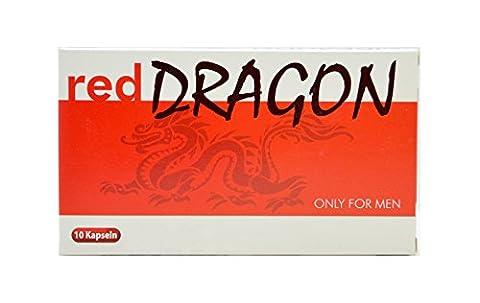Red Dragon 10 Männer-Kapseln - Wieder Schwung ins Liebesleben bringen I natürlich - rezeptfrei- leistungsstark