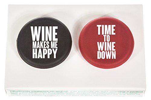 Kool Kitchen Essentials Wein Sekt Bier Flaschenverschluss Flaschenstopfen Wein Geschenk fur Geburtstage und Feiern Mitbringsel fur Weinliebhaber (Geschenk Essentials)