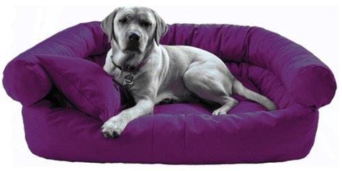 Artikelbild: tierlando® Hundebett Paula Hundesofa Hundebett P5-09 120cm Lila Anti-Haar Polyester