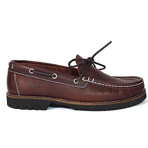 Zapatos Náuticos Fluchos 156 Burdeos - Color - Burdeos