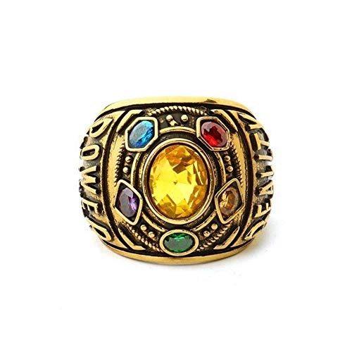 ToomLight Herren Ring Power Ring Schmuck Armband Brief