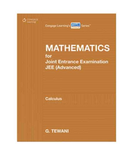 Mathematics for Joint Entrance Examination JEE (Advanced) : Calculus (PB)