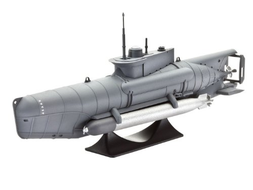 Revell 05125 - Modellbausatz - U-Boot Type XXVII B, Seehund im Maßstab 1:72