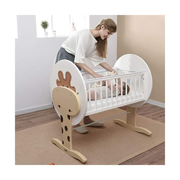 DUWEN-Cot bed Solid Wood Multifunctional Baby Cot European Toddler Bed Game Bed Children's Bed DUWEN-Cot bed 1. This perfect multi-functional crib is your baby's best gift. It gives the baby a space-like surprise experience, cultivates the baby's independent consciousness, and exercises the baby's hand and foot coordination ability. It is your best choice. 2. Multifunctional crib is made of environmentally friendly pine wood, which is tough and durable, not easy to crack and deform. The load is up to 120KG. The crib is made of safe and environmentally friendly paint. It is non-irritating and harmless to the baby. Mother can buy with confidence. 3. The three pedestal positions of the crib are suitable for the baby's growth stage, improve visibility and ventilation in all directions, select the gear according to the baby's body and age, meet the baby's various growth needs, the space is larger, the use is more comfortable. 10
