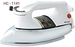 Hi Choice 1000 Watt Dry Iron (White Color,Set of 2) HC 1141