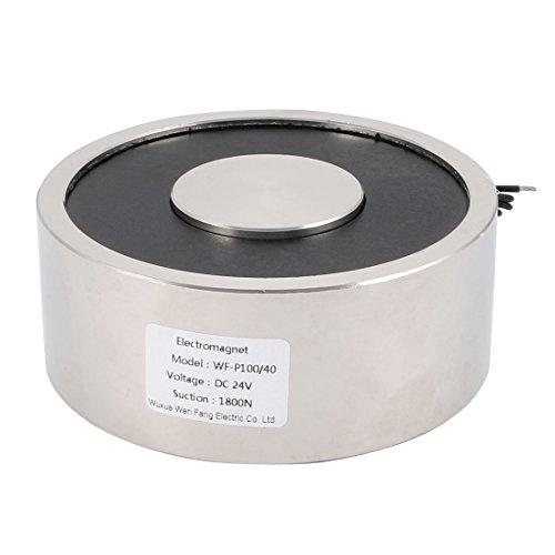 sourcingmap® 24VDC 1800N 3,74 LB1696g électro-aimant aimant levage électrique levage solénoïde Hold