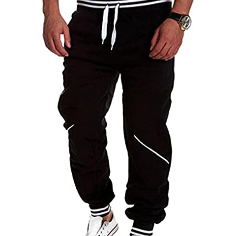 jeansian Sports Jogger Tendenze Moda Uomo Casuale Coulisse Baggy Pantaloni