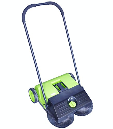Lemming Handkehrmaschine 550 kompakt - 55 cm Arbeitsbreite, 1.500 qm - Kehrmaschine für innen und außen Reinigungsmaschine Straßenkehrmaschine Kompaktkehrmaschine