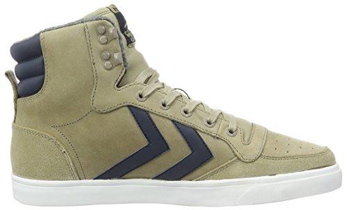 Hummel Stadil Winter Sneaker, Scarpe da Ginnastica Alte Unisex – Adulto Beige (Chinchilla)