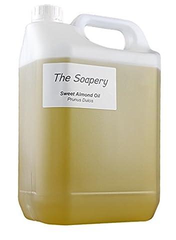 Mandelöl - 5 liter kosmetische Qualität für Massage, Aromatherapie, Seifen, Lotionen.