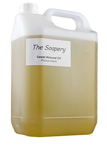 Seifen-lotion-massage-Öl (Mandelöl - 5 liter kosmetische Qualität für Massage, Aromatherapie, Seifen, Lotionen.)