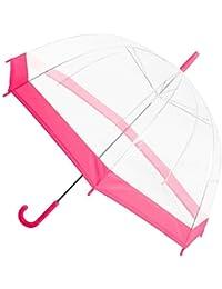 Burbuja transparente ver a través transparente cúpula sombrilla paraguas de ...