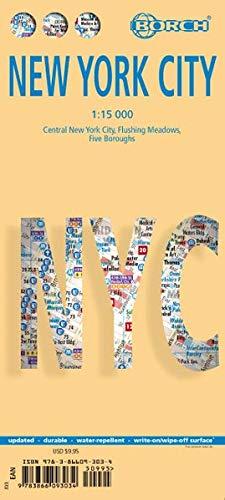 New York City 1 : 15 000 (Borch Maps) -