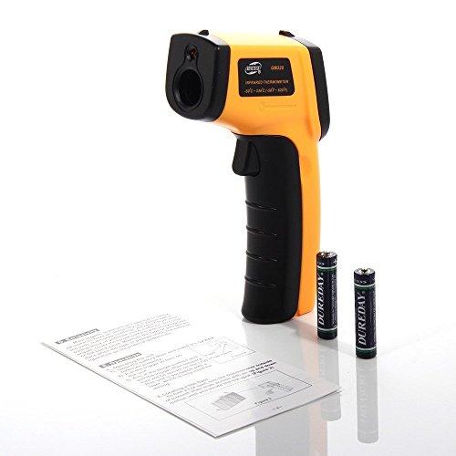BlueBeach® IR Infrarot Digital Thermometer Temperatur (-50 ° C bis 380 ° - Ziel Gauge 12