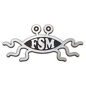 Flying Spaghetti Monster Car Emblem