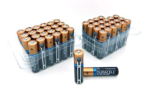 Duracell MX2400 2x Ultra Power AAA/Micro Batterie (24-er Pack) - Batterien 48 Aaa