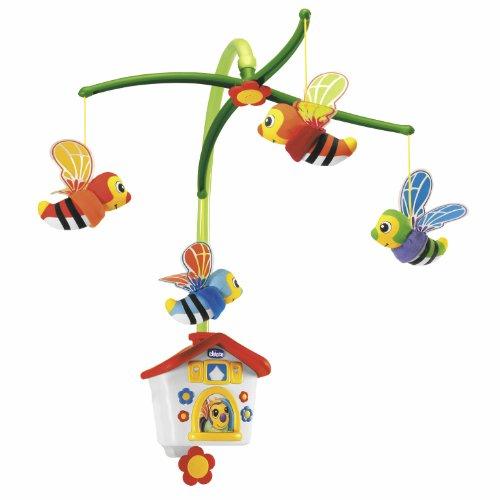 Chicco- Casina delle Api Giostrina Giostra Prima Infanzia Giocattolo 793, Multicolore, 00067099000000