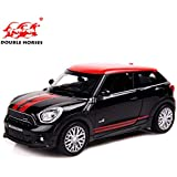 Metro Toy's & Gift 1: 32 Scale Diecast Alloy Metal Car Model for Mini Cooper Collection Model with Pull Back Car Toy for Kids (Colour May Vary)