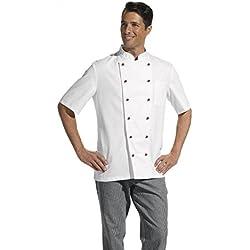 Leiber–Chaquetilla de cocinero 1/2Arm Blanco, color multicolor, talla 60