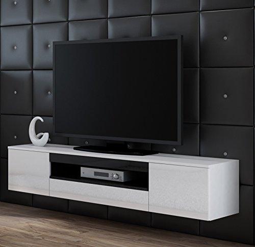 Tv Schrank VIVA, Tv Lowboard, Hochglanz, Hängen oder Stand