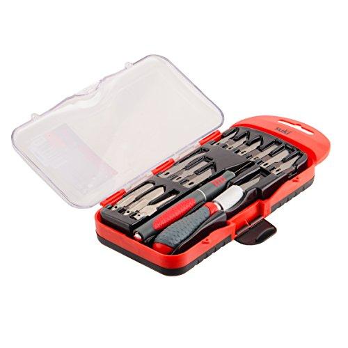 Suki bastler Set de couteaux, poignées 2 composants, 14 pièces, 1801330