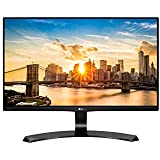 LG 22 inch (55cm) LCD Monitor - Full HD, IPS Panel with VGA, HDMI, DVI, Heaphone Ports - 22MP68VQ (Black)