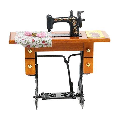 Descripción  Este artículo es una máquina de coser en miniatura, que tiene un diseño hermoso y una excelente mano de obra. Exquisita colección para muñecas, un excelente complemento para cualquier casa de muñecas tradicional.  Caracteristicas  - Colo...