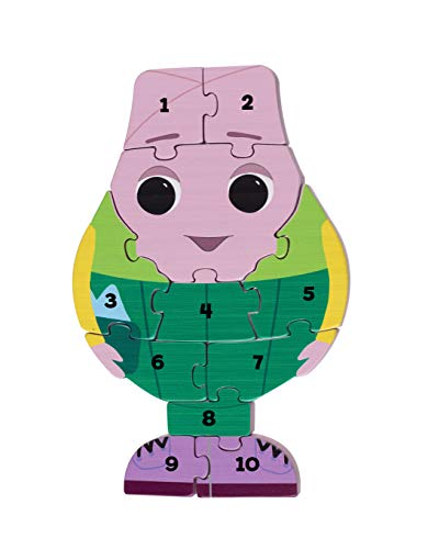 Orange Tree Toys Rompecabezas con número de Mr Onion Moon & Me