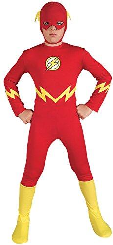The Flash Kostüm für Kinder, (Kinder Kostüme Flash)