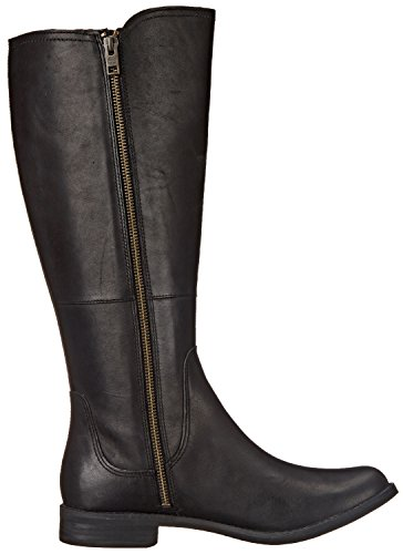 Timberland Savn Hill Tall Allfit Large Cuir Botte Black